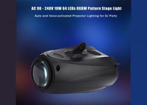 China Disco Club Led Stage Lighting 10W Party Show 90-240V Low Power Consumption on sale