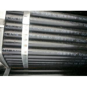 China ASTM A106 / API 5L Gr.B Seamless Carbon Steel Pipe,1-1/4 SCH40 on sale