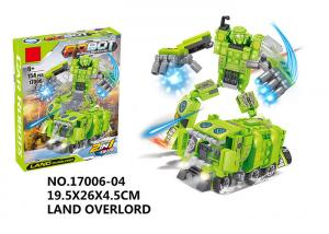 China 151Pcs Smooth Building Blocks Educational Toys Transformers Car Robot Toys on sale
