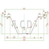 Large K Span Roll Forming Machine PPGI Material 8 Ton European Standard