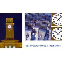 China indoor outdoor clock movement mechanism,open air wall clock,internal external clock -GOOD CLOCK (YANTAI) TRUST-WELL CO L on sale