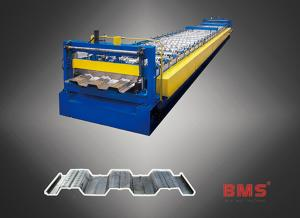 China Modern Metal Aluminum Steel Roll Forming Machine 380 Volt 50Hz 3 Phases on sale