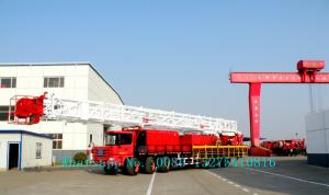 China Full Hydraulic Trailer Mounted Water Well Drilling Rigs With 2x403kw Engine on sale