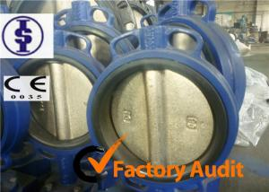 China API Ductile Iron Pneumatic Butterfly Valve Actuator PN10 PN16 , Low Pressure on sale