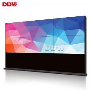 China 1920x1080 1.7 Mm Indoor 4k Video Wall 2x3 , 500 Nits LED Backlit Video Display Screen on sale