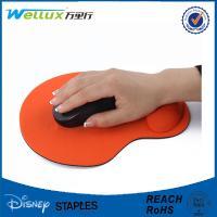 China Alfombrilla de ráton de goma de encargo con la ayuda de muñeca, GEL liso decorativo Mousepad de la PU on sale