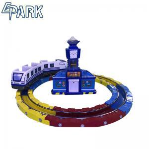 China Attractive Kiddie Ride Machine Electric Train , Track Amusement Game Machine on sale