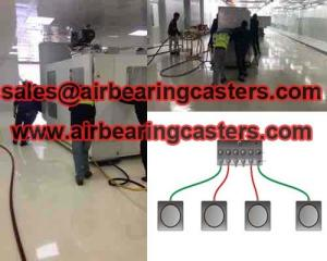 China Air casters manual instruction and price list on sale