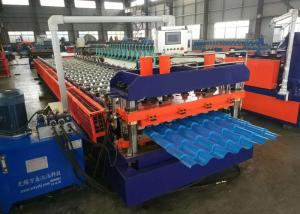 China Metal Roofing Sheet Rolling Former Machine , Cold Roll Forming Machine on sale
