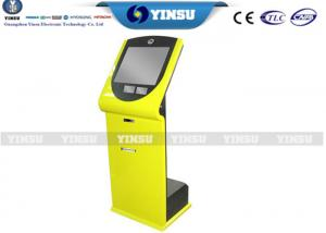 China Bus Station Touch Screen Kiosk / Free Standing Kiosk Optional RAL Color on sale