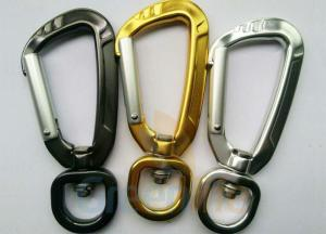 China 91MM Height Spring Snap Clip , Light Weight High Strength Heavy Duty Carabiner Clips on sale