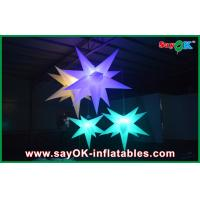 Led Party Inflatable Lighting Decoration Beautiful Inflatable Star