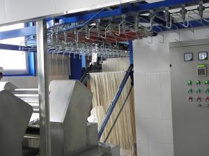 China Industrial Machine Of Making Noodles, Convenient Operation Noodle Steaming Machine on sale