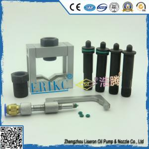 China ERIKC auto common rail injector universal gripper , car diesel fuel pump injection oil-return devices on sale