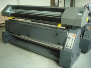 China impressora da sublimação de 1.8M com tela de matéria têxtil da impressora a jato de tinta da cabeça de Epson DX7 on sale