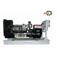 220V/380V Rated Voltage AC Three Phase Diesel Genset Perkins Closed Cycle Water Cooling