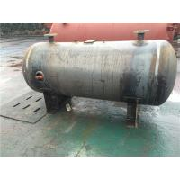 China Horizontal Stainless Steel Air Receiver Tanks For Machinery Manufacturing / Textile Industry on sale