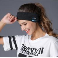 Wireless Bluetooth Headphones Hats Sports Yoga Dance Biker Hair Bands Absorb Sweat Headband Built-in Speakers and Mic