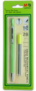 China Click - Action Refillable Mechanical Pencil 2mm HB Recycled Mechanical Pencil on sale