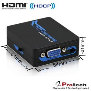 China Digital Video HDMI input  to Analog Video VGA output TV Converter IPETVH on sale
