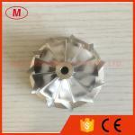 GT15-25 784369-0002 44.39/60.01m m whe del compresor de turbo del billete del alto rendimiento de 11+0 cuchillas