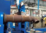 El reborde MIG del tubo/el ₂ del mag/del CO automatizó las soldadoras para la línea de la intersección del tubo