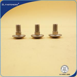 China Eco Friendly Brass Carriage Bolts / Galvanized Carriage Bolts DIN 603 Standards on sale