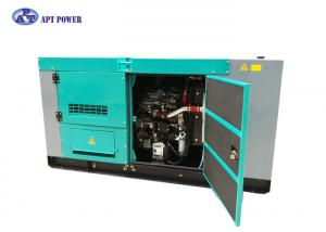China Soundproof diesel emergency generator 30kW with Isuzu Enginie Technology Gensets on sale