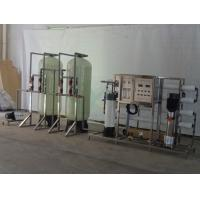 2000LPH Automatic Softening Water System 3 Phase For Removal Hardness