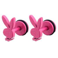 China Stainless Steel fashion cartoon rabbit avatar New Design health care stud Earring gift for girls on sale