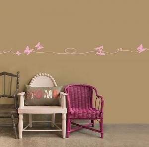 China Various shape non-toxic butterfly wall stickers safe for children on sale