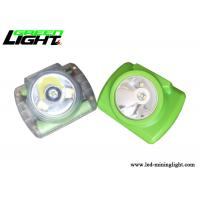 13000lux strong brightness full sealed water-proof led mining cap lamp with 200g light weight green color