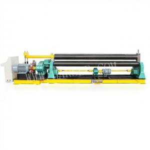 China W11 Mechanical Three roller metal plate sheet rolling machine and steel plate rolling machine on sale