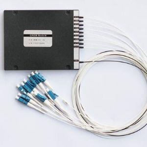 China 8+1-CH Coarse Wavelength Division Multiplexer (CWDM Mux/Demux) Module on sale