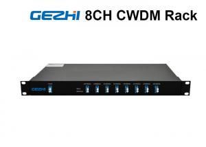 China 1RU Rack Chassis Wdm Fiber Optic Multiplexer LC/UPC Duplex For CATV Links on sale