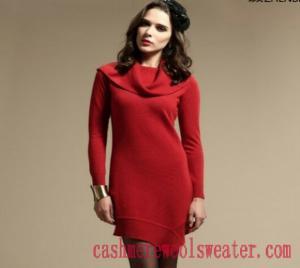 China Big High Neck Lady Cashmere Sweater on sale