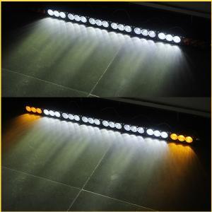 China 22 pouces ont courbé certificat ambre du guide 120w de voiture/blanc haut lumineux optique de la CE de poutre on sale