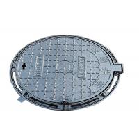 China Round Ductile Iron Manhole Cover Sand Casting 500mm Light Duty Anti Rust on sale