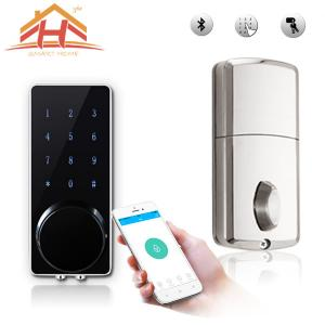 China Customized High Standard Bluetooth Smart Door Lock With Wireless Touch Screen supplier