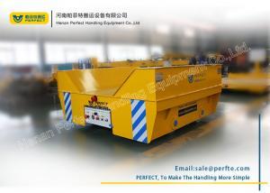 China Custom Handling Power Dolly Coil Transfer Trolley / Motorised Rail Trolley on sale