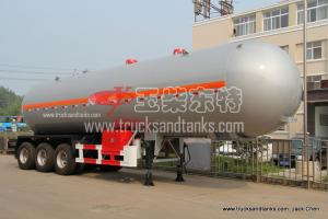 China Liquefied Petroleum Gas (LPG) Tanker Truck on sale