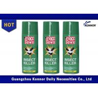 Flying Insect Killer Aerosol Insecticide Spray Alcohol Based Tin Can Aerosol Can