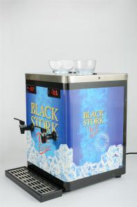 Quality Colorful Sticker Decorated Double Shot Chiller Compressor Cooling For Bars for sale