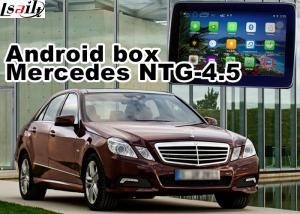 China Mercedes benz E class Automobile GPS Navigation Systems video interface on sale