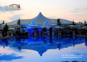 China 25x70m 2000 People  PVC Fabric Exhibition Tents Concert Tent Aluminum Frame on sale