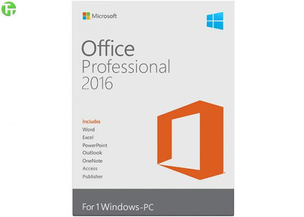 Microsoft Office Pro 2016 Retail box Office 2016 pro Plus