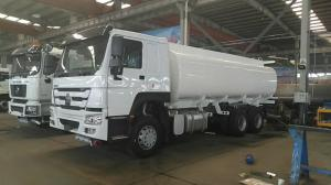 China 8x4 HOWO Heavy Duty Chemical Liquid Tanker Truck 11990 × 2500 × 3563 Overall Dimension on sale