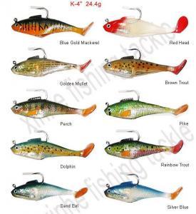 China swim baits soft plastic fishing lures on sale
