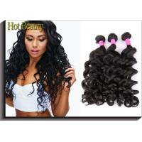 Grade 6A Unprocessed Human Hair Weave Big Curl Brazilian Grade Black Fashion Style