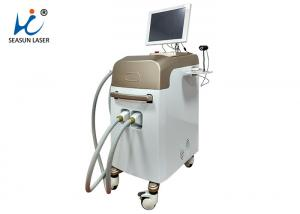 China 808nm Permanent Depilatory Machine , 2 Sessions Diode Hair Removal Machine on sale